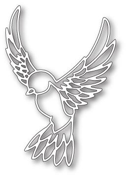 Poppystamps Die - Peaceful Dove