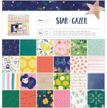 Dear Lizzy Single-Sided Paper Pad 12X12 36/Pkg - Star Gazer