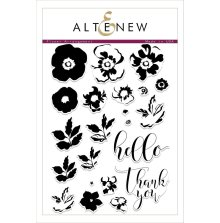 Altenew Clear Stamps 6X8 - Flower Arrangement