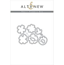 Altenew Die Set - Heart Flowers