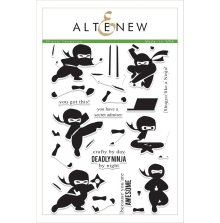Altenew Clear Stamps 6X8 - Ninja Invasion