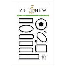 Altenew Clear Stamps 4X6 - Dot Labels