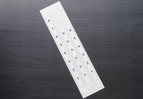 MISTI White Measurement Stickers