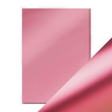Tonic Studios Craft Perfect Mirror Card A4 250gm - Pink Chiffon