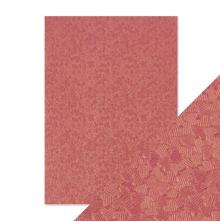Tonic Studios Craft Perfect Handmade Papers - Coral Confetti