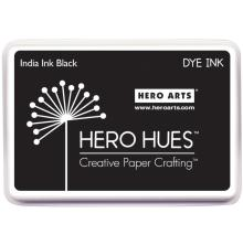 Hero Hues Dye Ink Pad - India Ink Black