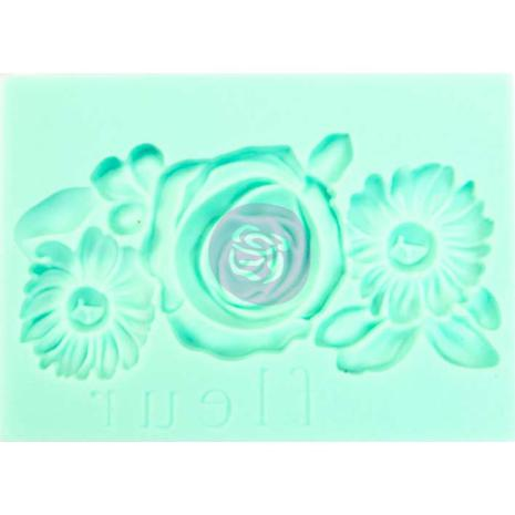 Prima Marketing Art Decor Mould 2.5X3.5 - Fleur
