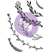 Prima Marketing Decor Stamp 5X7 - Build A Wreath