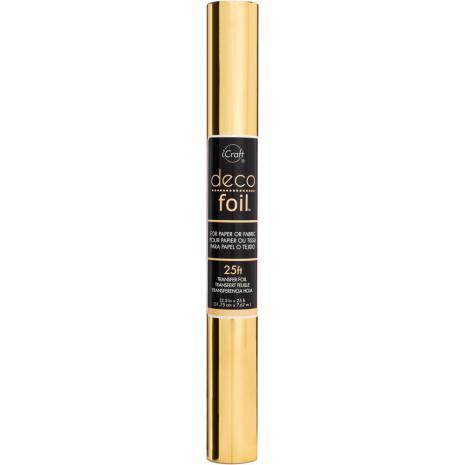 Thermoweb Deco Foil Transfer Sheet 12.5X25 Roll - Gold