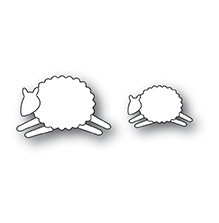 Memory Box Die - Leaping Sheep