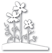 Memory Box Die - Painted Flower Stems
