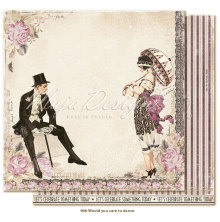 Maja Design Celebration 12X12 - Would you care to dance?