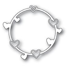 Poppystamps Die - Heart Circle
