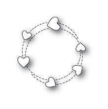 Poppystamps Die - Twirling Hearts