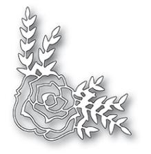 Poppystamps Die - Country Rose Corner