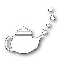 Poppystamps Die - Lovely Teapot