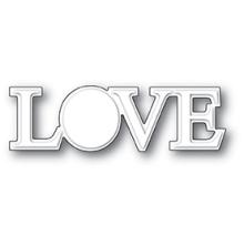 Poppystamps Die - Embossed Love