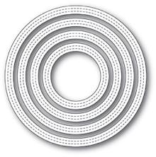 Poppystamps Die - Double Stitch Circle Frames