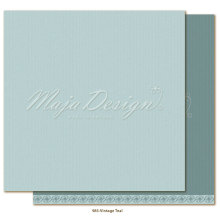 Maja Design Monochromes 12X12 Shades of Celebration - Vintage Teal