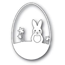 Poppystamps Die - Easter Bunny Egg