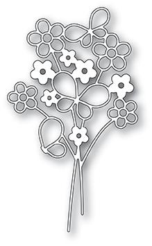 Poppystamps Die - Garden Bouquet