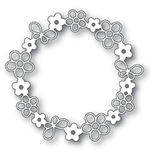 Poppystamps Die - Garden Wreath