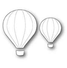 Poppystamps Die - Hot Air Balloons