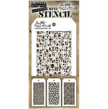 Tim Holtz Mini Layered Stencil Set 3/Pkg - Set #35