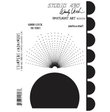 Wendy Vecchi Cling Stamps 6 1/2 x 8 3/4 - Spotlight Art