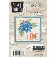 Wendy Vecchi Mat Minis - Fresh Flowers & Leaves