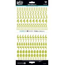 BellaBlvd Illustrated Faith Basics Stickers 6X12 218/Pkg - Olive You UTGÅENDE
