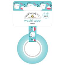 Doodlebug Washi Tape 15mmx12yd - Takeout