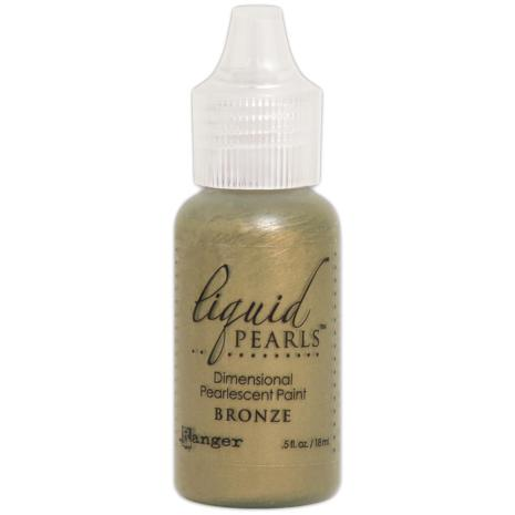 Liquid Pearls Dimensional Pearlescent 18ml - Bronze