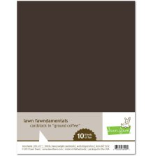 Lawn Fawn Cardstock Pack - Ground Coffee