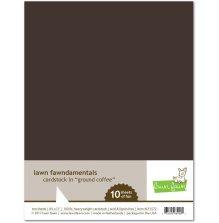 Lawn Fawn Cardstock - Ground Coffee