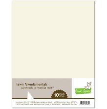 Lawn Fawn Cardstock - Vanilla Malt