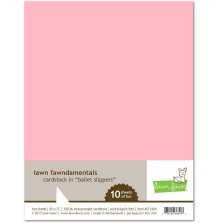 Lawn Fawn Cardstock - Ballet Slippers