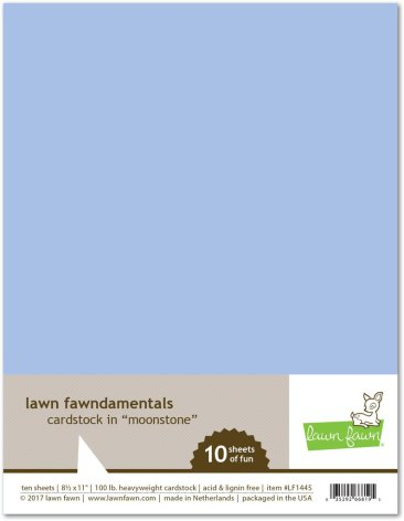 Lawn Fawn Cardstock Pack - Moonstone