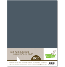 Lawn Fawn Cardstock - Storm Cloud