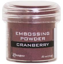 Ranger Embossing Powder 15gr - Cranberry Metallic