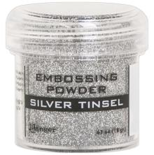 Ranger Embossing Powder 18gr - Silver Tinsel