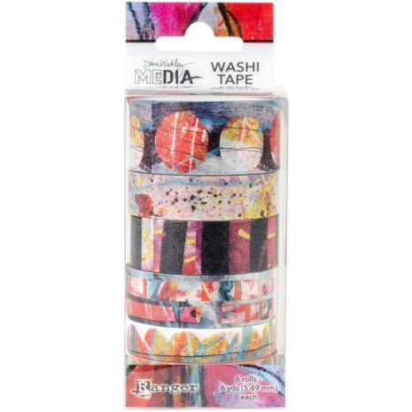 Dina Wakley Media Washi Tape - Set 2