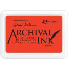 Ranger Ink Archival Inkpad - Poppy