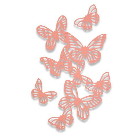 Sizzix Thinlits Die Set 3/Pkg - Butterflies