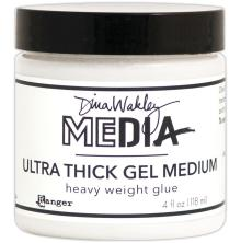 Dina Wakley Media Ultra Thick Gel Medium 4oz - Heavy Weight Glue