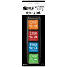 Dylusions Creative Dyary Ink  - Set #2