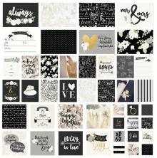 Simple Stories Snap Card Pack 48/Pkg - Always & Forever UTGÅENDE