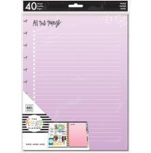 Me & My Big Ideas BIG Fill Paper 40/Pkg - All The Things