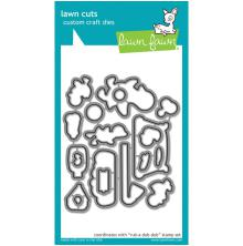 Lawn Fawn Custom Craft Die - Rub-A-Dub-Dub