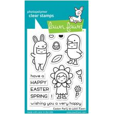 Lawn Fawn Clear Stamps 4X3 - Easter Party